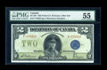 Canadian Currency: , DC-26c $2 1923. ...