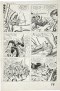 Original Comic Art:Panel Pages, Jack Kirby and Dick Ayers - Rawhide Kid #32, page 11 Original Art(Marvel, 1963)....