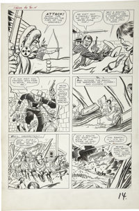 Jack Kirby and Dick Ayers - Rawhide Kid #32, page 11 Original Art (Marvel, 1963)