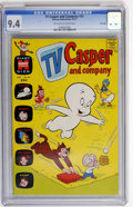 Bronze Age (1970-1979):Cartoon Character, TV Casper and Company #33 File Copy (Harvey, 1971) CGC NM 9.4Off-white to white pages....