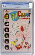 Bronze Age (1970-1979):Cartoon Character, TV Casper and Company #34 File Copy (Harvey, 1971) CGC NM+ 9.6Off-white to white pages....