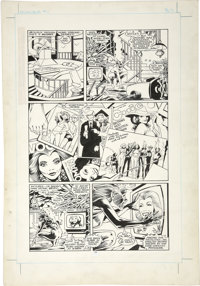 Alan Davis and Paul Neary - Excalibur #1, page 11 Original Art (Marvel, 1988)