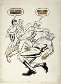 Original Comic Art:Covers, Archie, The Man From R.I.V.E.R.D.A.L.E. Illustration Original Art(Archie, circa 1967)....