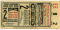 Baseball Collectibles:Tickets, 1931 St. Louis Cardinals World Series Game 2 Ticket Stub. 1931 wasthe second consecutive year, Sportsman's Park played hos...