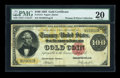 Large Size:Gold Certificates, Fr. 1212 $100 1882 Gold Certificate PMG Very Fine 20....