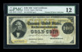 Large Size:Gold Certificates, Fr. 1210 $100 1882 Gold Certificate PMG Fine 12....