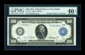 Large Size:Federal Reserve Notes, Fr. 1127 $100 1914 Federal Reserve Note PMG Extremely Fine 40 EPQ....