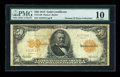 Large Size:Gold Certificates, Fr. 1198 $50 1913 Gold Certificate PMG Very Good 10....
