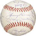Autographs:Baseballs, 1965 New York Yankees Team Signed Baseball. One of several Yankeeballs presented within this auction from the personal col...