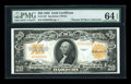 Large Size:Gold Certificates, Fr. 1187 $20 1922 Gold Certificate PMG Choice Uncirculated 64EPQ....