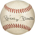 Autographs:Baseballs, Circa 1970 Mickey Mantle Single Signed Baseball. While we freelyadmit that Mantle singles aren't exactly rare in the colle...