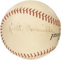 Autographs:Baseballs, Late 1930's Rabbit Maranville Signed Baseball. Soon after havingbeen named manager of the 1925 Cubs, he made his rounds th...