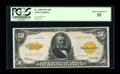Large Size:Gold Certificates, Fr. 1200 $50 1922 Gold Certificate PCGS Choice About New 55....