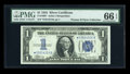Small Size:Silver Certificates, Fr. 1606* $1 1934 Silver Certificate. PMG Gem Uncirculated 66 EPQ.. ...