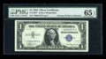Small Size:Silver Certificates, Fr. 1607* $1 1935 Silver Certificate. PMG Gem Uncirculated 65 EPQ.. ...