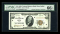 Small Size:Federal Reserve Bank Notes, Fr. 1860-K $10 1929 Federal Reserve Bank Note. PMG Gem Uncirculated 66 EPQ.. ...