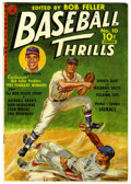 Golden Age (1938-1955):Non-Fiction, Baseball Thrills #10 (#1) (Ziff-Davis, 1951) Condition: FN+....(Total: 0)