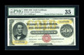 Large Size:Gold Certificates, Fr. 1216 $500 1882 Gold Certificate PMG Choice Very Fine 35....