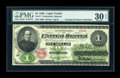 Large Size:Legal Tender Notes, Fr. 17 $1 1862 Legal Tender PMG Very Fine 30 EPQ....