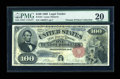 Large Size:Legal Tender Notes, Fr. 181 $100 1880 Legal Tender PMG Very Fine 20....