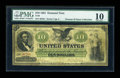 Large Size:Demand Notes, Fr. 8 $10 1861 Demand Note PMG Very Good 10....
