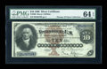 Large Size:Silver Certificates, Fr. 288 $10 1880 Silver Certificate PMG Choice Uncirculated 64EPQ....