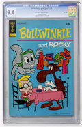 Bronze Age (1970-1979):Cartoon Character, Bullwinkle and Rocky #4 File Copy (Gold Key, 1972) CGC NM 9.4Off-white to white pages....
