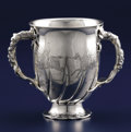 Silver Holloware, American:Cups, AN AMERICAN SILVER LOVING CUP. Gorham Manufacturing Co.,Providence, Rhode Island, 1885. Marks: (lion-anchor-G),STERLING,...