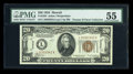 Small Size:World War II Emergency Notes, Fr. 2304 $20 1934 Hawaii Federal Reserve Note. PMG AboutUncirculated 55.. ...
