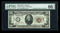 Small Size:World War II Emergency Notes, Fr. 2305 $20 1934A Hawaii Federal Reserve Note. PMG GemUncirculated 66 EPQ.. ...