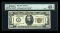 Small Size:World War II Emergency Notes, Fr. 2304* $20 1934 Mule Hawaii Federal Reserve Note. PMG ExtremelyFine 45 Net.. ...