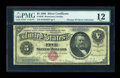 Large Size:Silver Certificates, Fr. 259 $5 1886 Silver Certificate PMG Fine 12....
