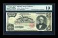 Large Size:Silver Certificates, Fr. 331 $50 1891 Silver Certificate PMG Very Good 10 NET....