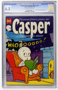 Golden Age (1938-1955):Cartoon Character, Casper the Friendly Ghost #18 (Harvey, 1954) CGC FN+ 6.5 Off-whiteto white pages....