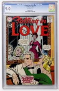 Silver Age (1956-1969):Romance, Falling in Love #50 (DC, 1962) CGC VF/NM 9.0 Off-white pages....