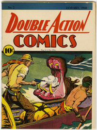 Double Action Comics #2 (DC, 1940) Condition: VF/NM