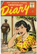 Silver Age (1956-1969):Romance, Sweetheart Diary #33 (Charlton, 1956) Condition: VF/NM....