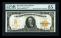 Large Size:Gold Certificates, Fr. 1171 $10 1907 Gold Certificate PMG About Uncirculated 55....