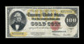 Large Size:Gold Certificates, Fr. 1215 $100 1922 Gold Certificate Fine....