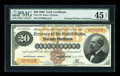 Large Size:Gold Certificates, Fr. 1176 $20 1882 Gold Certificate PMG Choice Extremely Fine 45NET....