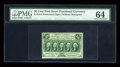 Fractional Currency:First Issue, Fr. 1311 50c First Issue PMG Choice Uncirculated 64....