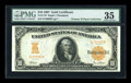 Large Size:Gold Certificates, Fr. 1170a $10 1907 Gold Certificate PMG Choice Very Fine 35....