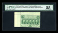 Fractional Currency:First Issue, Fr. 1310a 50c First Issue PMG About Uncirculated 55....