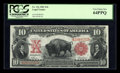 Large Size:Legal Tender Notes, Fr. 116 $10 1901 Legal Tender PCGS Very Choice New 64PPQ....