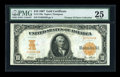 Large Size:Gold Certificates, Fr. 1170a $10 1907 Gold Certificate PMG Very Fine 25....