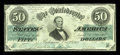 Confederate Notes:1862 Issues, T50 $50 1862 PF-13, Cr. 360.. ...