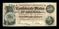 Confederate Notes:1864 Issues, T64 $500 1864 PF-1, Cr. 489.. ...