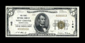 National Bank Notes:Pennsylvania, West Chester, PA - $5 1929 Ty. 1 The First NB Ch. # 148. ...