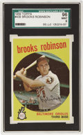 Baseball Cards:Singles (1950-1959), 1959 Topps Brooks Robinson #439 SGC 96 Mint 9. Brooks Robinson tookthe 1970 World Series and made it his personal showcase,...