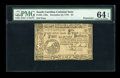 Colonial Notes:South Carolina, South Carolina December 23, 1776 $4 PMG Choice Uncirculated 64 EPQRemainder....